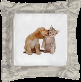 "Подушка простая ""котята"" - подушка"
