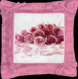 """Подушка простая """"цветы"""" - подушка"""