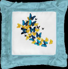 "Подушка простая ""бабочки"" - подушка"