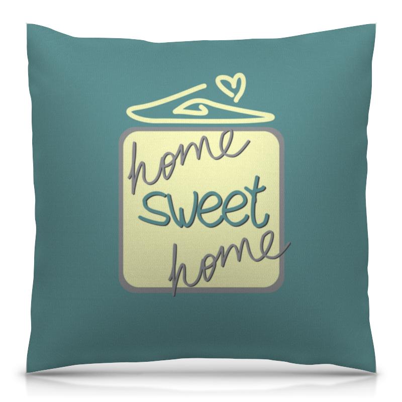 Подушка 40х40 с полной запечаткой Printio Home, sweet home матрас подушка на подоконник daily home