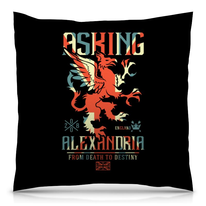 Подушка 40х40 с полной запечаткой Printio Asking alexandria сумка bottega veneta 171265vq1301000 bv 2014