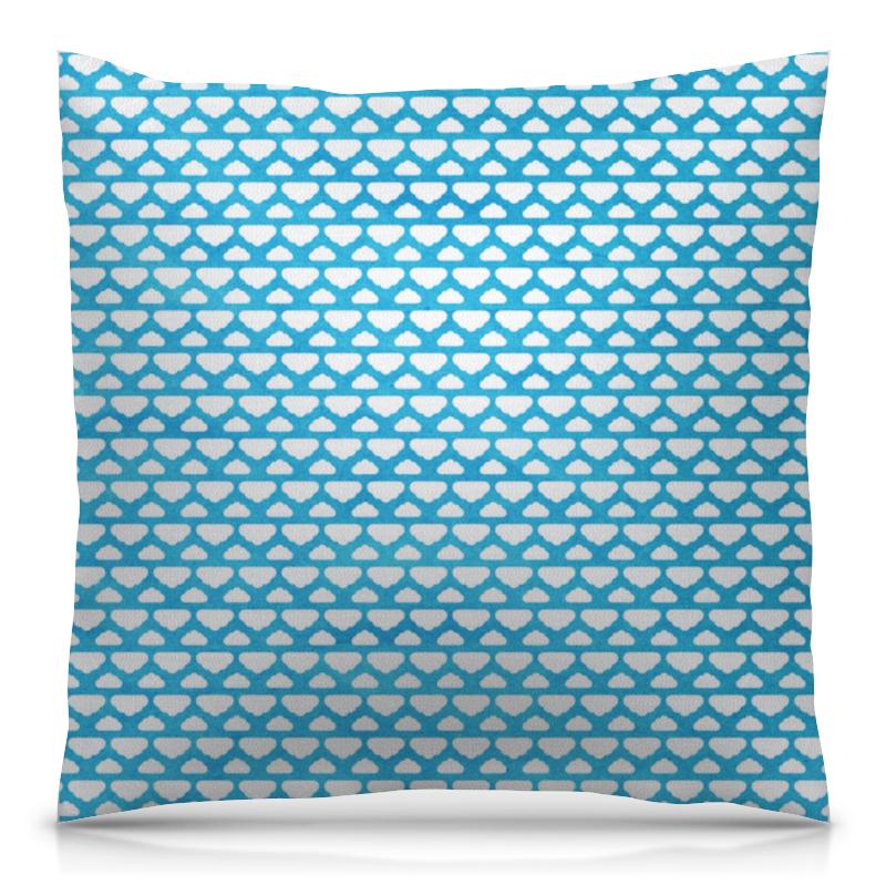 Printio Бело-голубой узор asabella наволочки декор d3 2 43 43 бело голубой