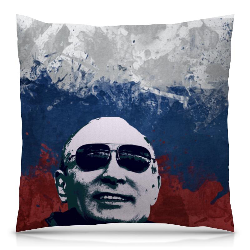Подушка 40х40 с полной запечаткой Printio Путин подушка printio путин