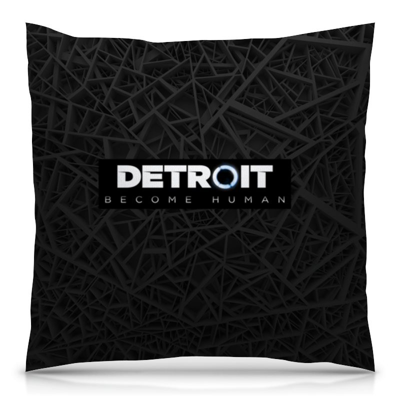 Подушка 40х40 с полной запечаткой Printio Detroit become human рубашка поло с полной запечаткой printio detroit become human