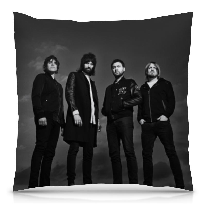 Подушка 40х40 с полной запечаткой Printio Kasabian борцовка с полной запечаткой printio rock in rio фестиваль рок музыки