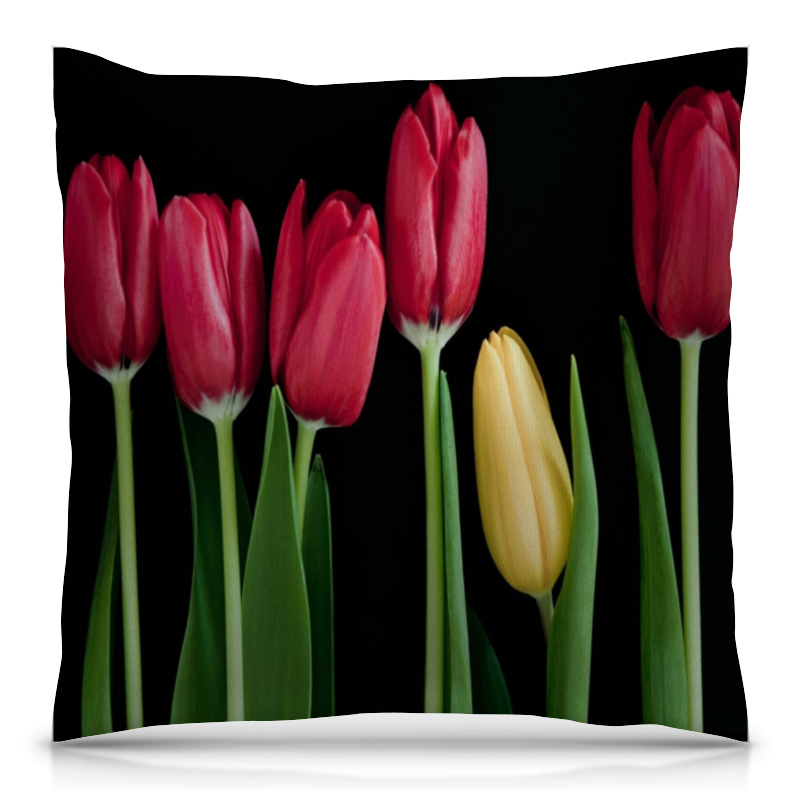 Printio Тюльпаны подушка printio тюльпаны