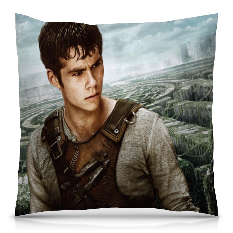 Подушка 40х40 с полной запечаткой Printio Бегущий в лабиринте / the maze runner maze print pillow case