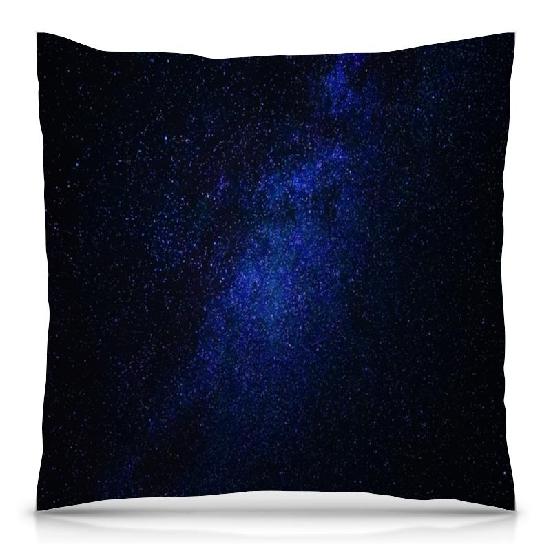 Подушка 40х40 с полной запечаткой Printio Небо космоса