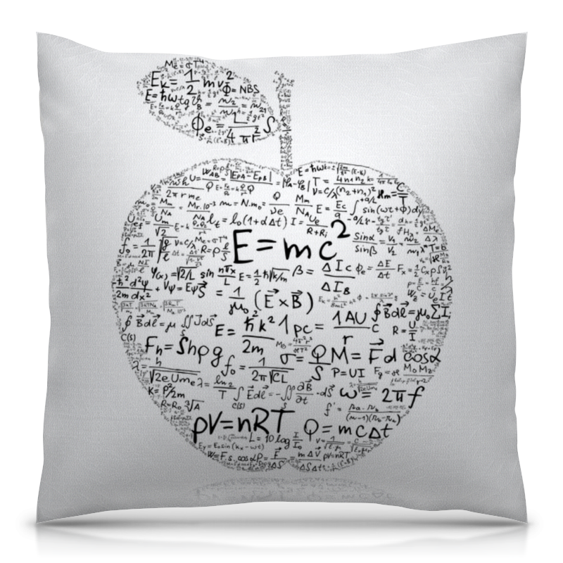 Фото - Подушка 40х40 с полной запечаткой Printio Яблоко подушка 40х40 с полной запечаткой printio яблоко