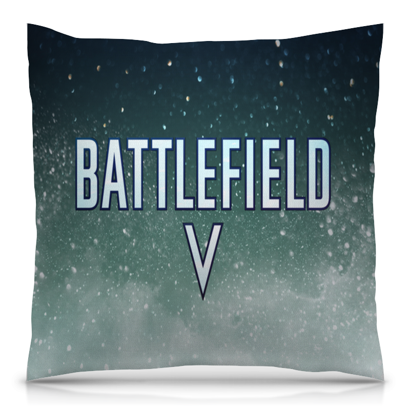 Подушка 40х40 с полной запечаткой Printio Battlefield 5 футболка с полной запечаткой женская printio battlefield v