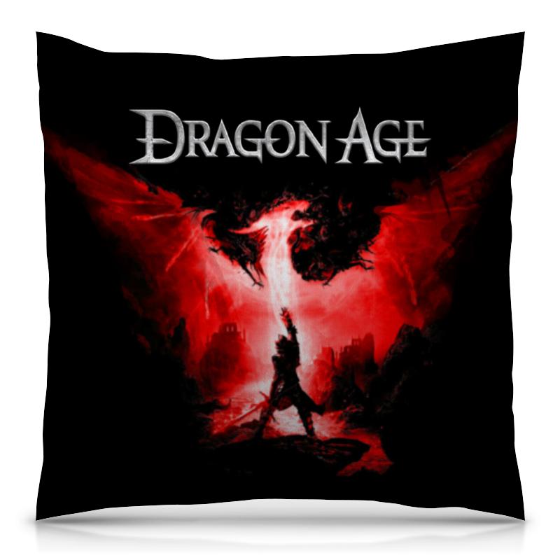 Подушка 40х40 с полной запечаткой Printio Dragon age dragon age omnibus