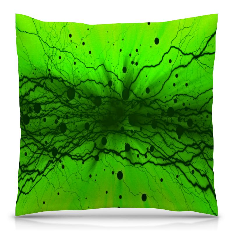Подушка 40х40 с полной запечаткой Printio Узор на зеленом подушка 40х40 с полной запечаткой printio узор на зеленом