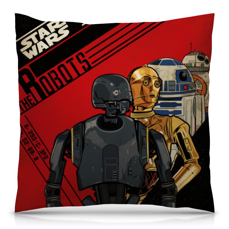 Подушка 40х40 с полной запечаткой Printio Звёздные войны / star wars