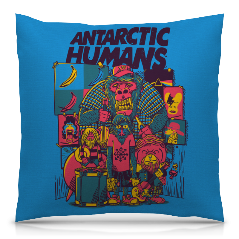 Printio Antarctic humans обложка для паспорта printio antarctic humans