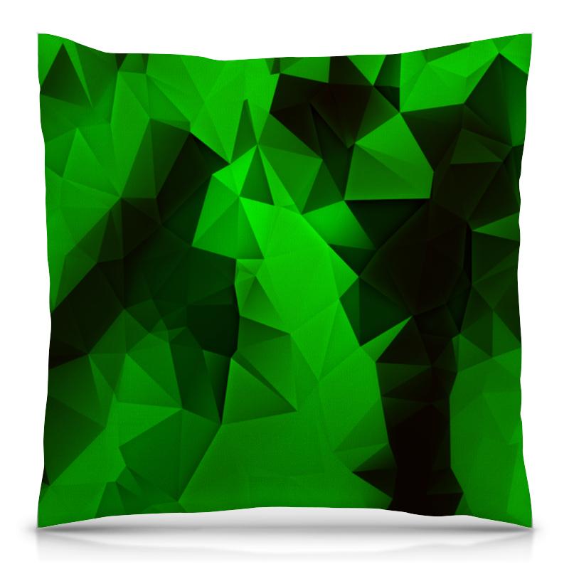 Подушка 40х40 с полной запечаткой Printio Зеленые стекла подушка 60х40 с полной запечаткой printio зеленые стекла