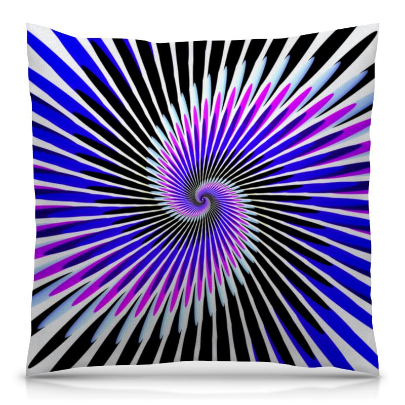 Printio Абстракция линий подушка 40х40 с полной запечаткой printio синяя абстракция
