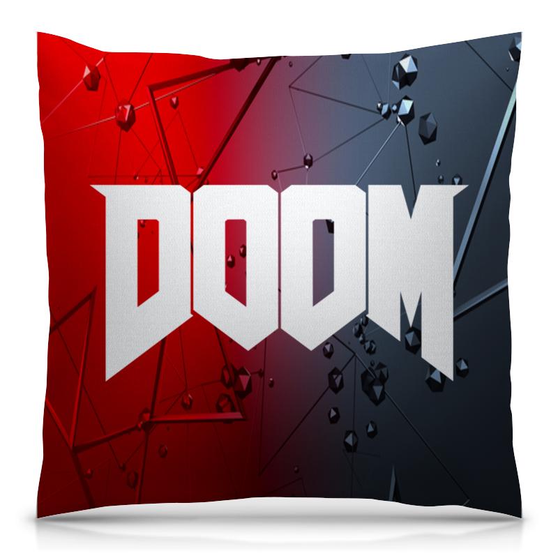 Подушка 40х40 с полной запечаткой Printio Doom игра doom игра для ps4
