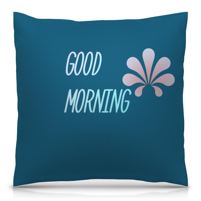 Подушка 40х40 с полной запечаткой Printio Good morning майка классическая printio good morning