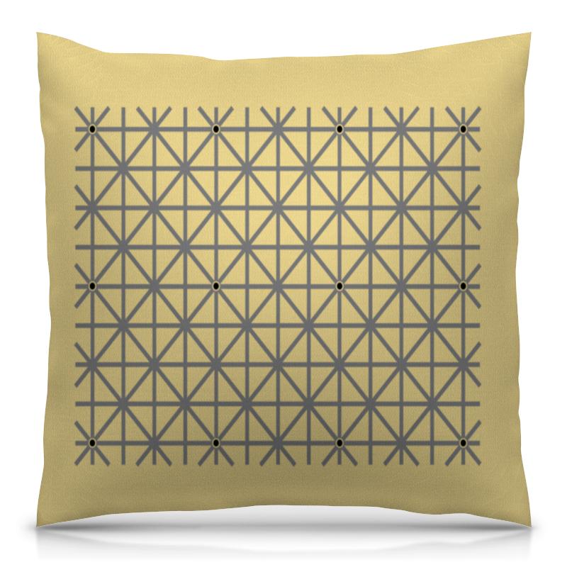 Подушка 40х40 с полной запечаткой Printio Оптическая иллюзия