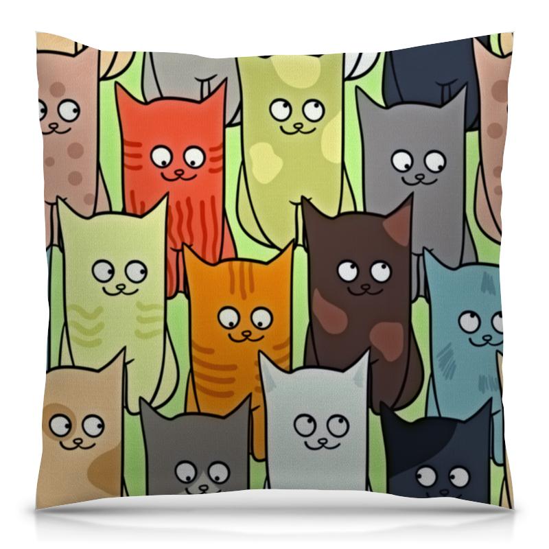 Подушка 40х40 с полной запечаткой Printio Котята полуперсидские котята в москве