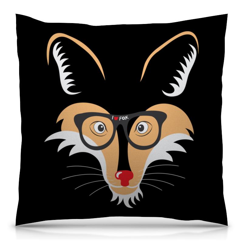 Printio Лис (fox) подушка 40х40 с полной запечаткой printio лиса fox