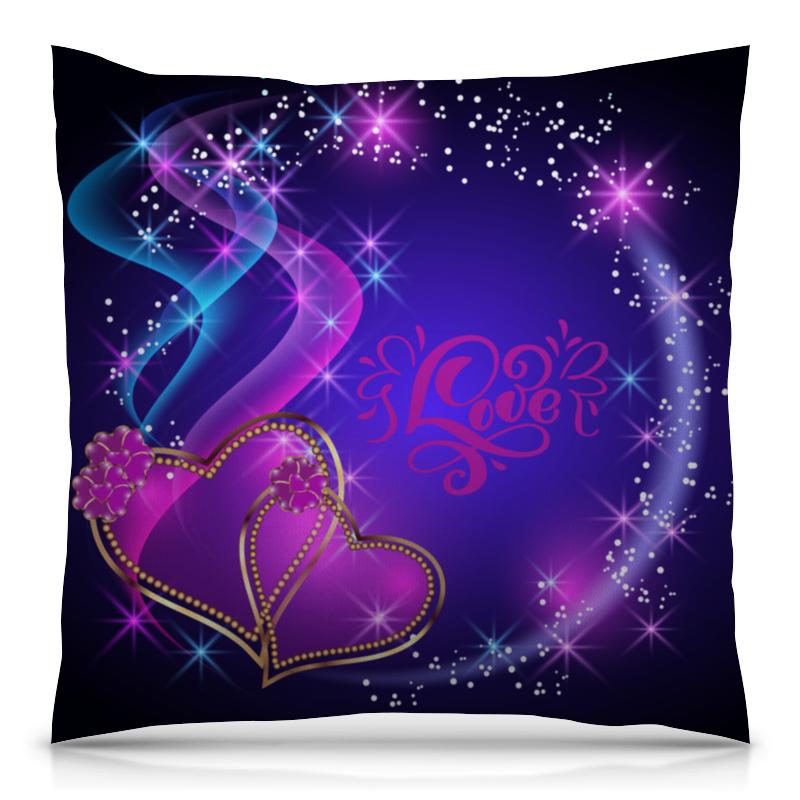 Подушка 40х40 с полной запечаткой Printio Любовь