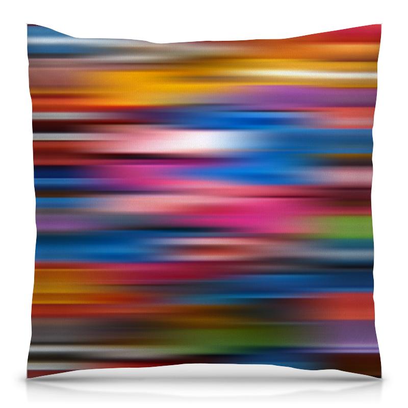 Printio Краски радуги подушка 40х40 с полной запечаткой printio акварельные краски