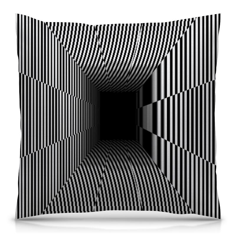 Подушка 40х40 с полной запечаткой Printio Иллюзия