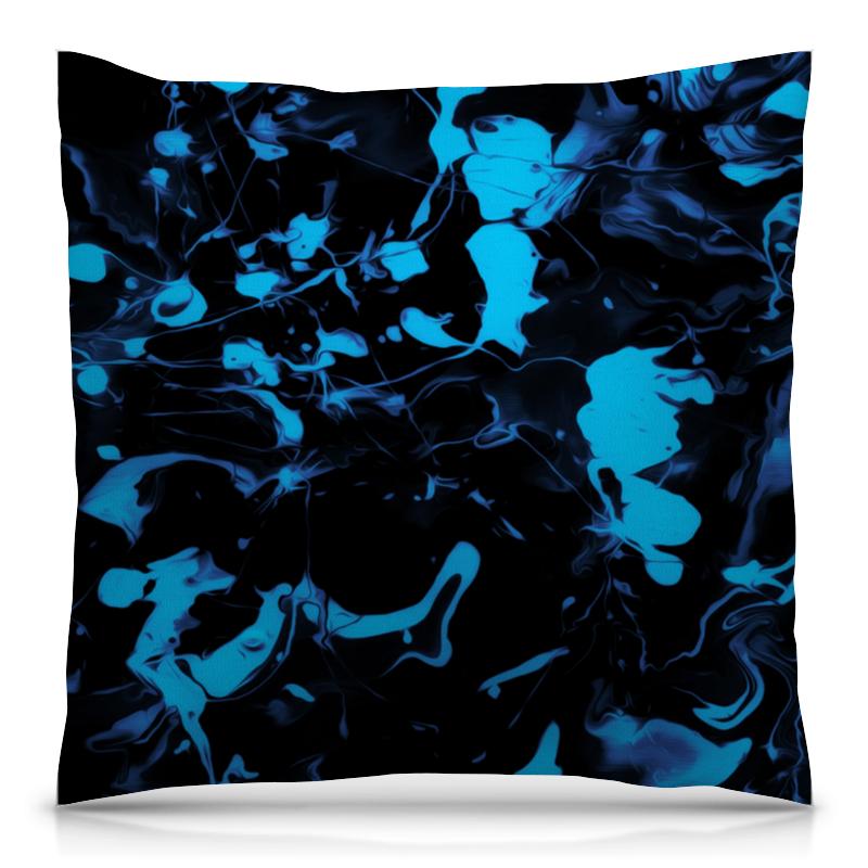 Подушка 40х40 с полной запечаткой Printio Голубые брызги рюкзак с полной запечаткой printio голубые брызги