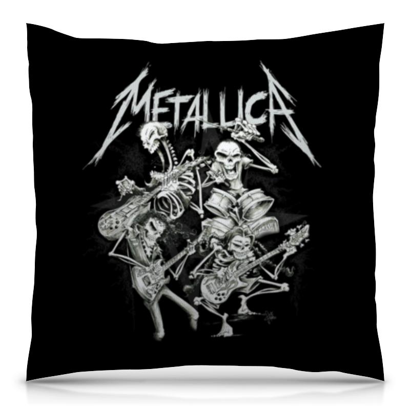 Подушка 40х40 с полной запечаткой Printio Metallica подушка 40х40 с полной запечаткой printio zdermm431