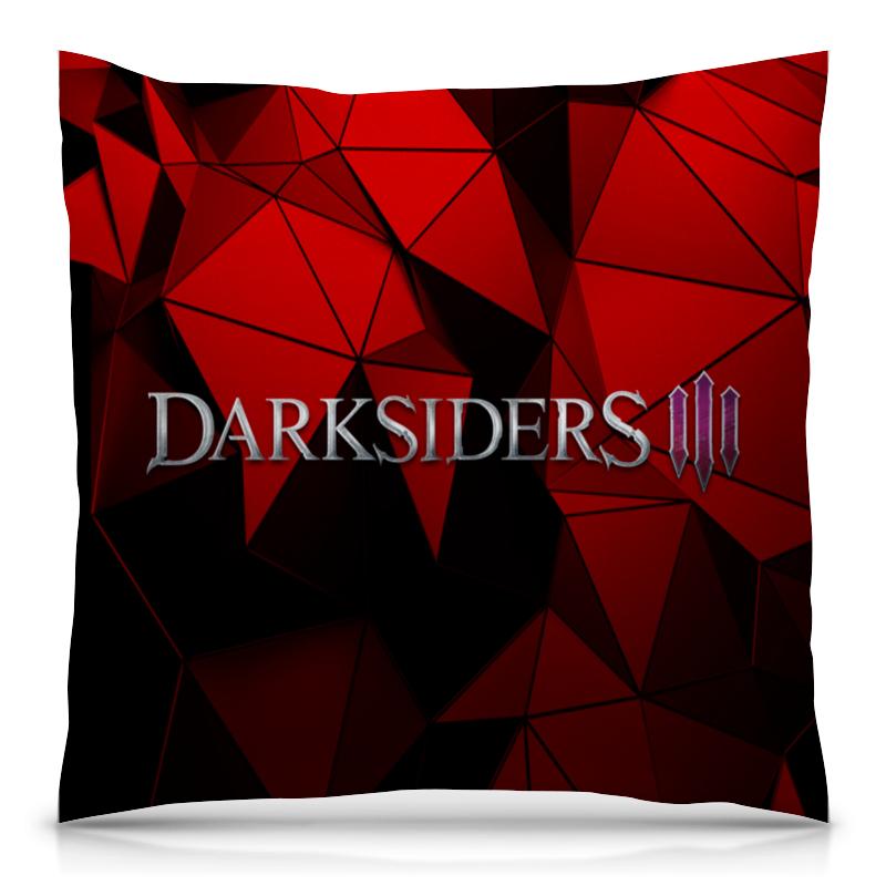 Подушка 40х40 с полной запечаткой Printio Darksiders kreisberg andrew darksiders ii death s door