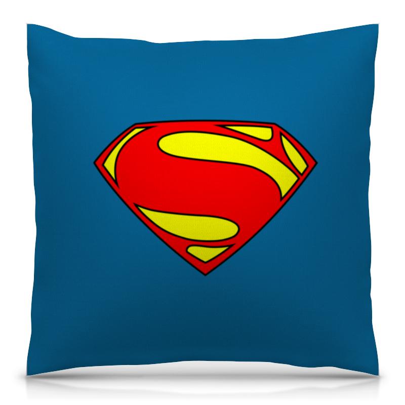 где купить Подушка 40х40 с полной запечаткой Printio Супермен дешево