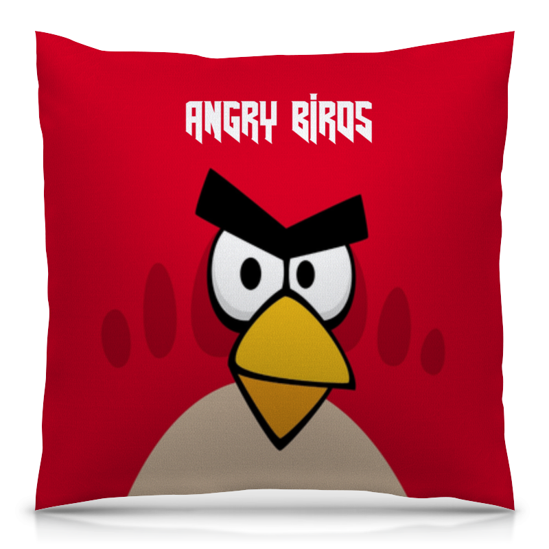 Подушка 40х40 с полной запечаткой Printio Angry birds (terence) creative led wall lamp hotel bedroom bathroom light living room bedside modern led wall light reading wall lamp mirror lights