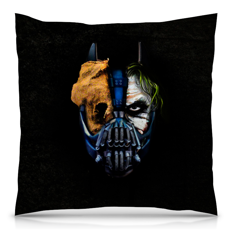Printio Джокер (бэтмен) подушка 40х40 с полной запечаткой printio джокер joker