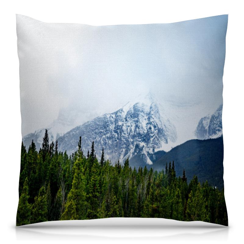 Подушка 40х40 с полной запечаткой Printio Ледяная гора толстовка с полной запечаткой printio ледяная орхидея