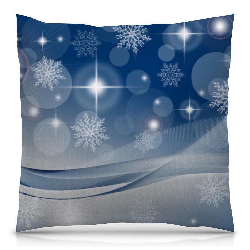 Фото - Подушка 40х40 с полной запечаткой Printio Снежинка подушка 40х40 с полной запечаткой printio снежинка