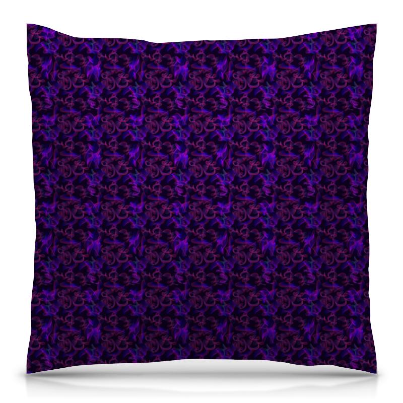 Подушка 40х40 с полной запечаткой Printio Dark violet pattern толстовка с полной запечаткой printio batman dark violet