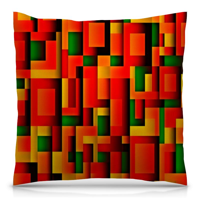 Подушка 40х40 с полной запечаткой Printio Орнамент графический подушка 40х40 с полной запечаткой printio орнамент графический