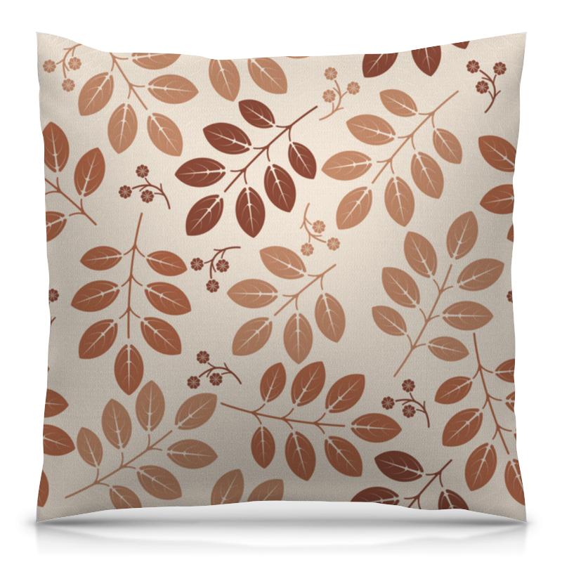 Подушка 40х40 с полной запечаткой Printio Осенние листы elff ceramics прямоугольная тарелка осенние листья