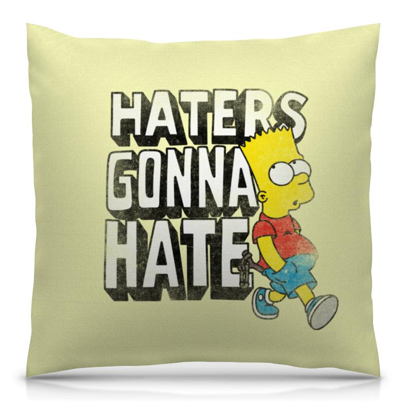 Printio Haters gonna hate. барт симпсон