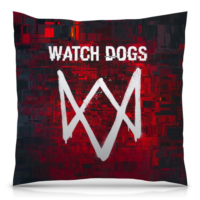Подушка 40х40 с полной запечаткой Printio Watch dogs sleeping dogs definitive edition игра для ps4