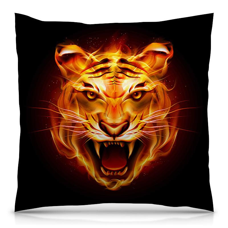 Подушка 40х40 с полной запечаткой Printio Тигры фэнтези подушка printio тигры