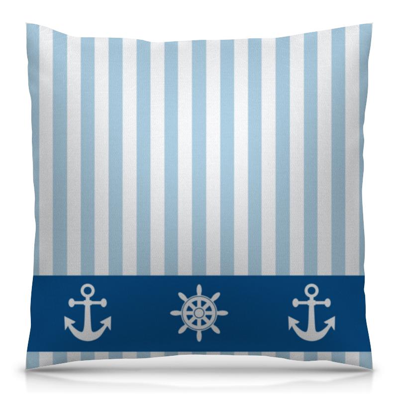 Подушка 40х40 с полной запечаткой Printio Морская тема подушка printio подушка финская тема