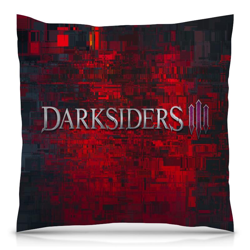 Подушка 40х40 с полной запечаткой Printio Darksiders