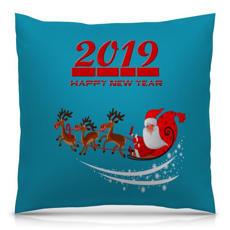 Подушка 40х40 с полной запечаткой Printio Дед мороз сладкая сказка печенье дед мороз и снегурочка 400 г