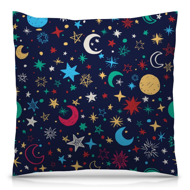 Подушка 40х40 с полной запечаткой Printio Звёздное небо свитшот унисекс с полной запечаткой printio звёздное небо