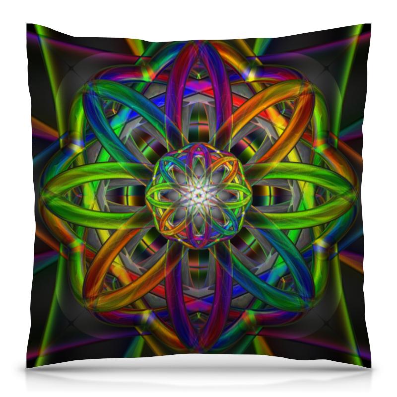 Подушка 40х40 с полной запечаткой Printio Rainbow dimensions