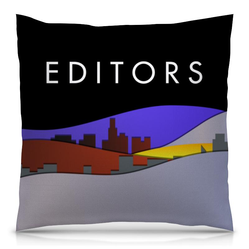 Подушка 40х40 с полной запечаткой Printio Editors