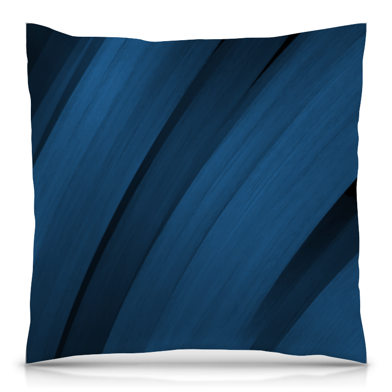 Подушка 40х40 с полной запечаткой Printio Синяя абстракция подушка 40х40 с полной запечаткой printio узор на зеленом