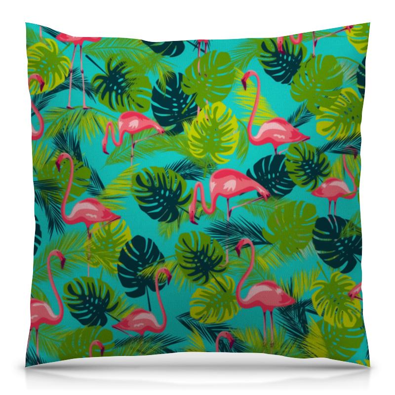 Printio Розовый фламинго (1) подушка с пайетками фламинго сплошная текстиль 40х40